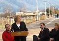 Presidenta Bachelet participó en la entrega oficial de la pavimentación de la Ruta I-350 acceso Apalta en Santa Cruz 01.jpg