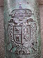Presidio of SF cannon Poder coat of arms.JPG