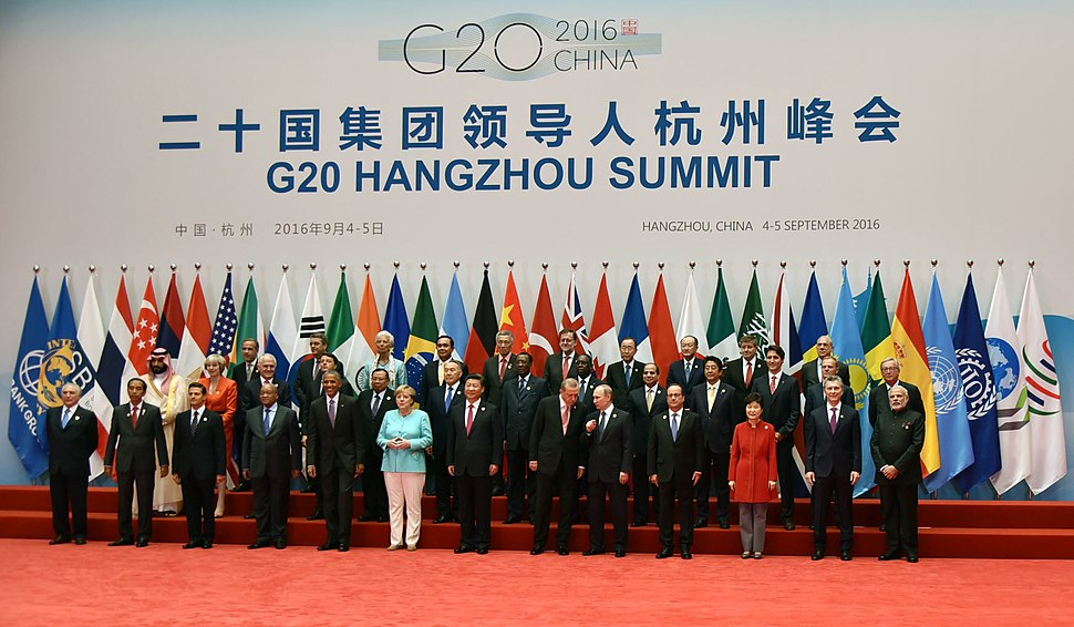 Prime Minister Narendra Modi at the G20 Summit in Hangzhou, China