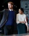 Prince Harry and Ms. Markle visit Titanic Belfast (27102888228) (cropped).png
