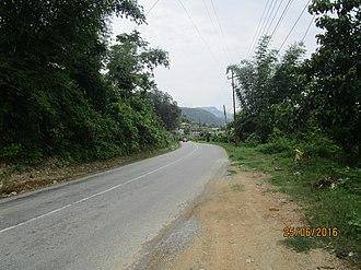 Prithvi Highway - Image: Prithvi Highway at Ghansikuwa