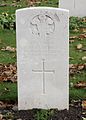 Private Michael Canning, Leinster Regiment, 7th Bn. La Laiterie Military Cemetery.jpg