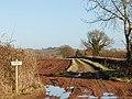 Private farm track, Birdingbury - geograph.org.uk - 1122593.jpg