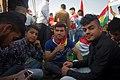 Pro-Kurdistan, pro-independence referendum rally at Franso Hariri Stadium in Erbil 06.jpg