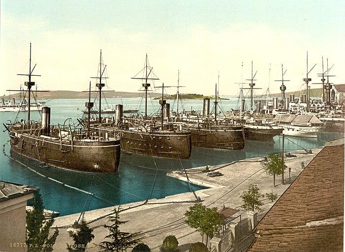 Pula naval yard