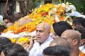 Puneet Issar at Dara Singh's funeral 02.jpg