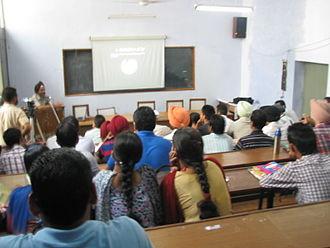 Education in Punjab, India - Classroom in Punjab