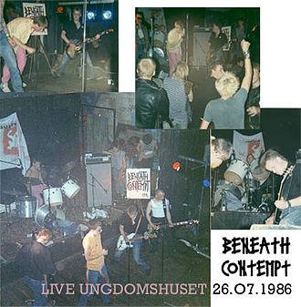 Copenhagen December Riot - Ungdomshuset soon became a centre for alternative music.