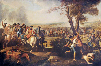 Danish Auxiliary Corps in Anglo-Dutch service 1701-1714 - Pursuit of the French after the Battle of Ramillies.