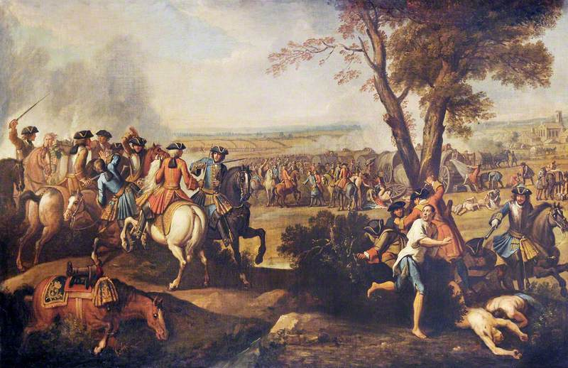 Pursuit of the French after the Battle of Ramillies