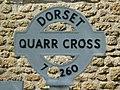 Quarr, finger-post finial - geograph.org.uk - 1435897.jpg