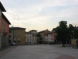 Quattro Castella - Entrance to Quattro Castella