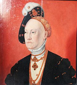 Queen Dorothea of Denmark 1511-1571 IMG 5820.jpg