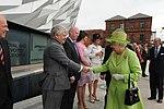 Queen Elizabeth II, Titanic Belfast, 2012 (15).jpg