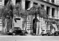 Queensland State Archives 3028 Air Raid Shelters outside the Lands Administrative Building George Street Brisbane c 1945.png