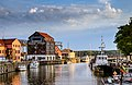 Quite summer evening in the port city Klaipeda.jpg