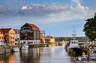 Портовый город Клайпеда