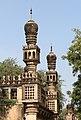 Qutb Shahi Tombs - minarets.jpg