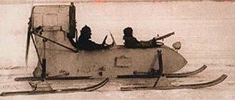 Aerosani - The RF-8, a smaller World War II model, powered by an inexpensive automotive engine