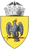 Coat of arms of Curtea de Argeș
