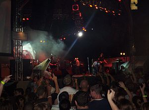 Rock the Universe - Kutless playing on the Hollywood Stage at Rock the Universe 2006