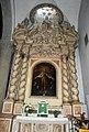 Raffaello Schiaminossi, madonna della misericordia (xvii secolo) e stucchi con gloria di san pio V.JPG