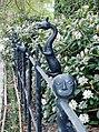 Railings outside Skirling House - geograph.org.uk - 170457.jpg