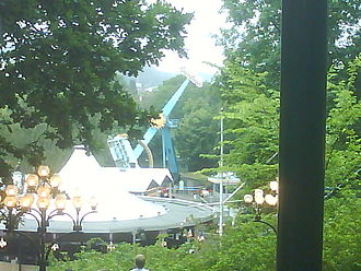 Incidents at European amusement parks - Rainbow collapsed