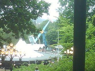 Rainbow (ride) - Rainbow at Liseberg collapsed