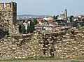 Ramparts of Tsarevets Fortress with City Backdrop - Veliko Tarnovo - Bulgaria - 01 (43220029581).jpg