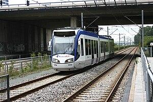 Zoetermeer Stadslijn - A Randstadrail Tram on line 3