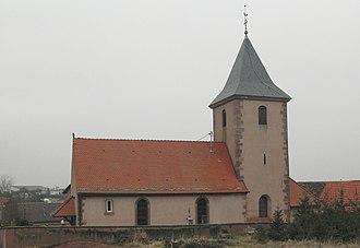 Rangen - Image: Rangen, Eglise Saint Martin