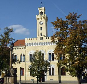 Postoloprty - Town hall