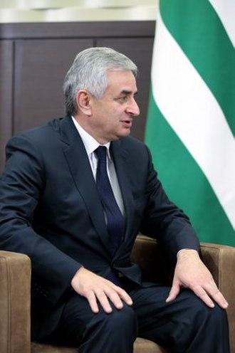President of Abkhazia - Image: Raul Khajimba