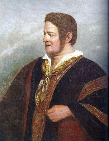 Raymond Monvoisin - Retrato de Juan Manuel de Rosas%2C 1842