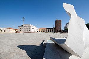 Carbonia, Sardinia - Piazza Roma, Carbonia