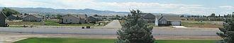 Bonneville County, Idaho - Recent suburban development in Bonneville County near Idaho Falls