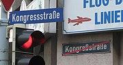 Street name adapted to last German spelling reform