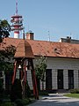 Reformed church. Listed ID 6944. Belfry. - Cegléd, Hungary.JPG