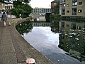 Regents Canal, Haggerston, approaching Broadway Market, London E8 - geograph.org.uk - 1386718.jpg