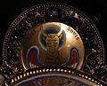 Regione mosana, cristo in maestà, 1180 ca., con i simboli degli evangelisti aggiunti nel 1870 quando fu tarsformato in spilla da piviale 05 luca.jpg
