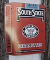 Reklameskilt South State cigarettes.jpg