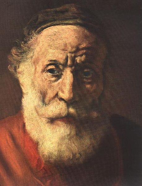 File:Rembrandt - Portrait of an Old Man in Red (detail) - WGA19183.jpg