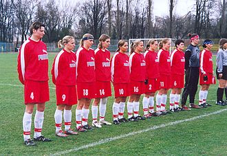 Poland women's national football team - Poland's national team in 2004