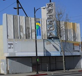 Reseda, Los Angeles - Reseda Theatre, March 2010