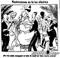 Restricciones en la luz eléctrica, de Tovar, La Voz, 18 de mayo de 1921.jpg