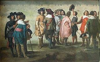 Réunion de quatorze personnages