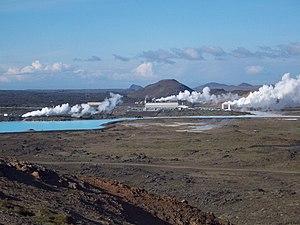 Reykjanes - Svartsengi Power Station on Reykjanes