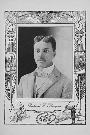 Richard W. Thompson (journalist) - Richard W. Thompson in 1902