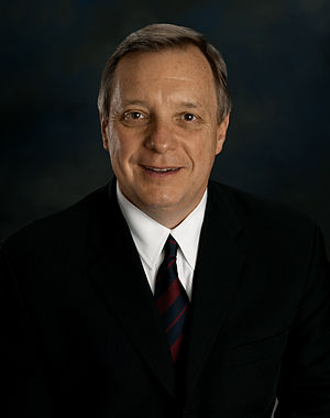 Al Gore presidential campaign, 2000 - Image: Richard Durbin official photo